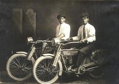 William Harley and Arthur Davidson, 1914 -- A LIfetime Legacy. www.jeffreymarkell.com #orangecountyrealtor #twowheels #bikelife