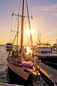 Sunset in Newport, RI