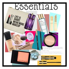 """""""Your Makeup Essential"""" by gaellerached ❤ liked on Polyvore featuring beauty, Givenchy, MAC Cosmetics, Sephora Collection, Bobbi Brown Cosmetics, Eos, Estée Lauder, Thierry Mugler, Yves Saint Laurent and Laura Mercier"""