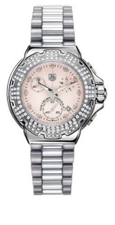 Women's Wrist Watches - TAG Heuer Womens CAC1311BA0852 Formula 1 Diamond Accented Chronograph Watch *** Read more reviews of the product by visiting the link on the image.