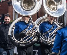 Meet The Marching Bands Backstage - Patrick's Day Parade (Dublin)