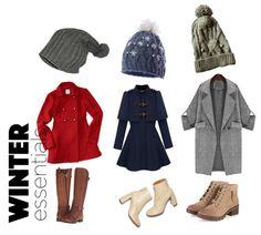 Warm #Woolen #Beanies : shop.SIJJL.com  Cute and cozy #coats and a stylish pair of #boots!  True #Winter essentials! :) Follow us on #Polyvore: sijjl.Polyvore.com