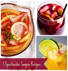 7 Spectacular Sangria Recipes!