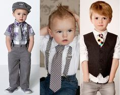 3 Handsome Ways to Wear Necktie for Young Boys