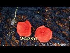 Valentine Rose-Very Easy & Simple to make Paper Rose (Valentine)|Origami Rose tutorial(Jo Nakashima) - YouTube