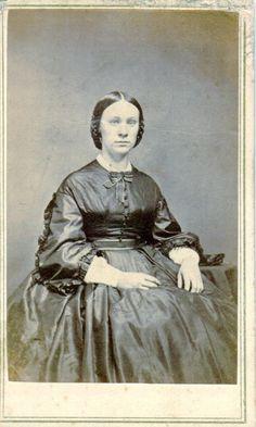 CDV Of Ellen Maria Goff Taken 14 Sep 1864 In Stockton California Ken Piper Carte De Visites