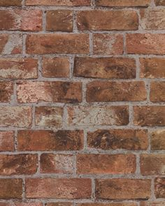 Orange and red brick raised textured wallpaper. It looks and feels like the real thing.  Many homeowners like to put this particular brick wallpaper in their kitchen, basement or wet bar area.  We ...