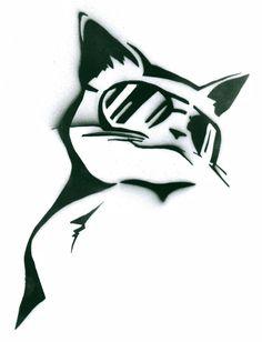 Cool Cat by SprayPaintScience.deviantart.com on @deviantART