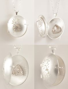 Iris Locket by Shauna Mayben