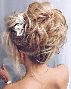 Though it looks tossed up hairdo, it looks stylish when you try this hairstyle.
