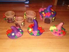 Craft Tutorial: Clay Fairy House Box - YouTube