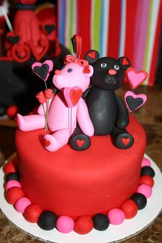 Valentine's cakes | Flickr - Photo Sharing!