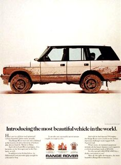 Vintage Range Rover