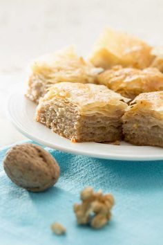 search - www. Greek Desserts, Greek Recipes, Greek Pastries, Sweetest Day, Cornbread, Deserts, Ethnic Recipes, Food, Sweet Days