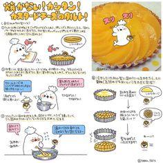 Twitter / boku_5656: 焼かない!簡単!カスタード×クリームチーズのタルトレシピをま ...