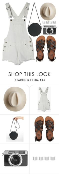 """""""White Overalls"""" by genuine-people ❤ liked on Polyvore featuring Artesano, Billabong, Casetify, Maison Margiela, white and overall"""