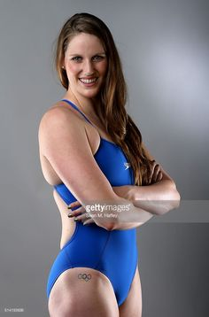 Swimmer Missy Franklin poses for a portrait at the 2016 Team USA Media Summit at The Beverly Hilton Hotel on March 7, 2016 in Beverly Hills, California.