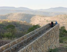 Another view of Chinese artist, Ai Weiwei's work on the Ruta del Peregrino in Mexico.