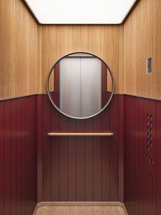 david/nicolas create exclusive elevator cabin series for Mitsulift - Projects, David/nicolas, Beirut Lift Design, Cabin Design, Design Firms, Design Design, House Design, Lobby Interior, Interior Architecture, Modern Interior, Modern Furniture