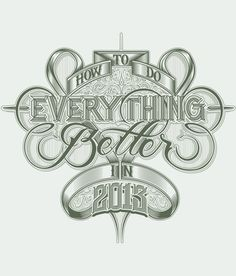 CUSTOM LETTERS, BEST OF 2012, DAY TWO — MARTIN SCHMETZER LetterCult