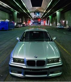BMW E36 M3 silver