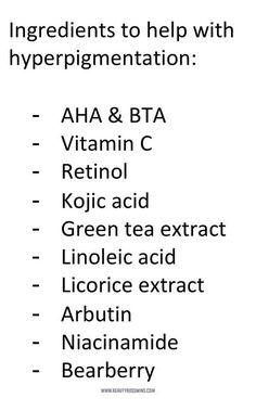 Wie man Hyperpigmentierung loswird dunkle flecken Vitamin C Anti Aging Skin Care, Natural Skin Care, Natural Beauty, Skin Tips, Skin Care Tips, Hyperpigmentation Remedies, Beauty Hacks For Teens, Skin Care Routine For 20s, Skincare Routine