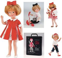 I didn't have a Barbie first, I had Penny Brite and I loved her. She was so much fun and we had thousands of adventures together. New Dolls, Barbie Dolls, Dolls Dolls, Barbie Clothes, Childhood Toys, Childhood Memories, Vintage Barbie, Vintage Dolls, Tammy Doll