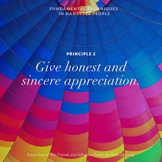 Dale Carnegie, Principle Give honest and sincere appreciation. How To Influence People, Dale Carnegie, Life Lessons, Appreciation, How To Memorize Things, Friends, Books, Movie Posters, Amigos
