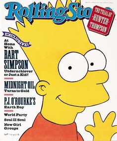 BART SIMPSON ~ SIMPSONS MANIA BOOK FROM SHOW/'S 1990 DEBUT SEASON