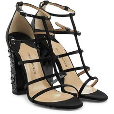 134c96c2c9e94 Cute-looking sandals designed by Paul Andrew available in Black. We think  that you will look stylish wearing these sandals created by the brand Paul  ...