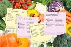 Przepisy do wydruku na zupki dla niemowląt – po kliknięciu w zdjęcie znajdziesz ich mnóstwo! Baby Food Recipes, Healthy Recipes, Healthy Food, Cooking With Kids, Kids And Parenting, Cantaloupe, Cabbage, Fruit, Vegetables