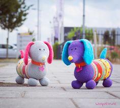 Leer amigurumi haken met Teckel Tony! | Wolplein blog | Bloglovin'