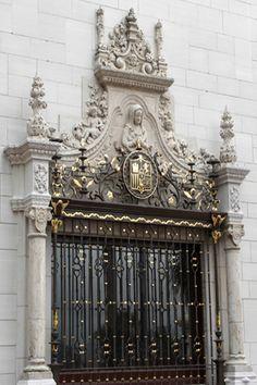 Hearst Castle - Entrance