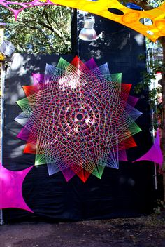 Flower of life strin