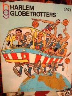 Harlem Globetrotters from their cartoon show