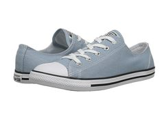 Converse Chuck Taylor® All Star® Dainty Seasonal Color Ox Skye Haze/White/Black - Zappos.com Free Shipping BOTH Ways