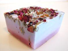 SOAP- Lilac Rose Soap - Handmade Soap - Vegan Soap