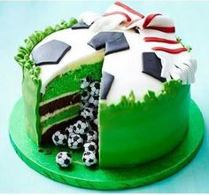 Gateau football