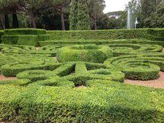 The marvellous garden of Villa Lante, Bagnaia, Lazio