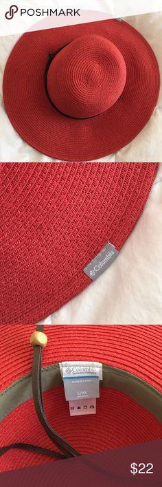 Columbia women's sun hat -Red NWOT Never worn Red sun hat Columbia Accessories Hats