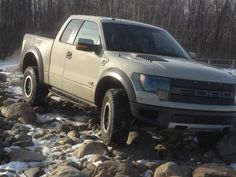 Taking the #Ford SVT #Raptor #offroad. Stay tuned for more.