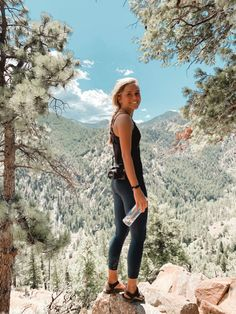 See more of alexdeannn's content on VSCO. Hiking Photography, Photography Poses, Granola Girl, Mountain Pictures, Camping Outfits, Foto Art, Foto Pose, Picture Poses, Picture Ideas