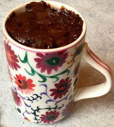 So easy and so delicious. This low-FODMAP Five Minute Chocolate Mug Cake is the perfect single serving of chocolate decadence, made in the microwave!