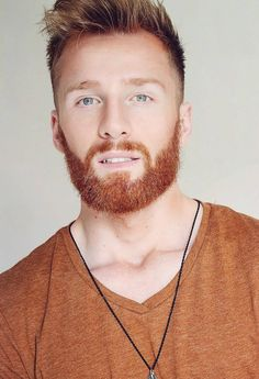 Hairstyles : Guys With Red Hair Winsome 29 Coolest Men S Color Ideas In 2019 2 Image Guys With Red Hair Guys With Red Hair And Blue Eyes' Guy With Red Hair From Princess Diaries' Guys With Red Hair Dye also Hairstyless Hot Ginger Men, Ginger Beard, Ginger Hair, Ginger Guys, Moustaches, Red Hair Men, Hot Guys, Redhead Men, Red Beard