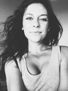 Black and white portrait. #model