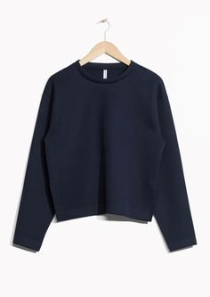 & Other Stories image 1 of Scuba Sweater in Blue
