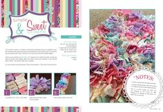 DIY Rag Rug featured in the June/July 13 issue of Smart Blonde & Crafty Magazine.