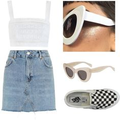 Vans by baludna on Polyvore featuring polyvore, fashion, style, Zimmermann, Topshop, Vans and clothing