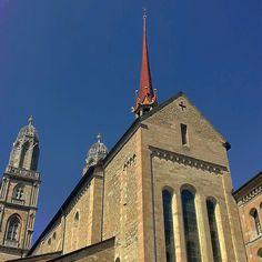 The main church in Zürich-City #grossmünster #church #swiss #switzerland #zurich #zürich #zuerich  M Y  H A S H T A G :: #pdeleonardis C O P Y R I G H T :: @pdeleonardis C A M E R A :: iPhone6  #visitzurich #ourregionzurich #Zuerich_ch #igerzurich #Züri #zurich_switzerland #ig_switzerland #visitswitzerland #ig_europe #wu_switzerland #igerswiss #swiss_lifestyle #aboutswiss #sbbcffffs #ig_swiss #amazingswitzerland #loves_switzerland #switzerland_vacations #pictureoftheday #picoftheday…