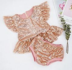 BEST SELLER - Marilyn Rose Gold Sequin 2 Pc Birthday Set - Ruffles Baby Girl First Birthday, First Birthday Outfits, Pink Birthday, Rose Gold Sequin Top, Gold Sequins, Ruffles, Tutu, Cake Smash Outfit, Fall Fashion 2016